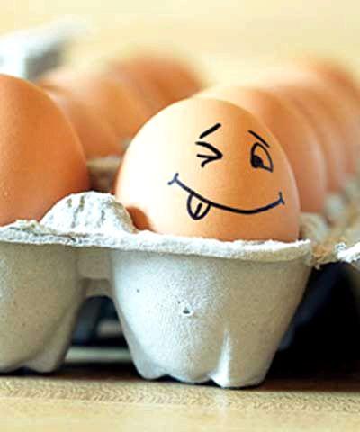 Скільки калорій в яйці, калорійність яйця