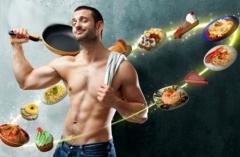 Меню дієти для чоловіків