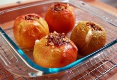 Дієта на печених яблуках