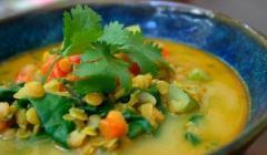 Калорійність супу з сочевиці