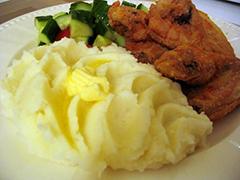 Пюре картопляне калорійність