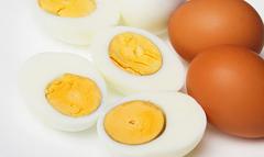 Калорійність вареного яйця