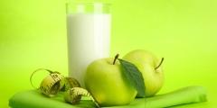 Кефіру-яблучна дієта