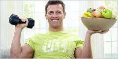 Правильне харчування для схуднення для чоловіків