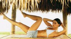 Вправи для м'язів живота і боків