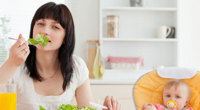 Как похудеть кормящей маме быстро